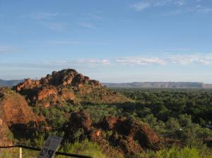 View of Kununurra from Hidden Valley National Park
