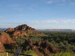 View of Kununurra from Hidden Valley National Park