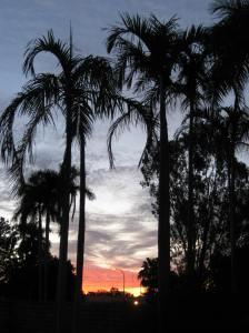 View from locum accommodation, kununurra