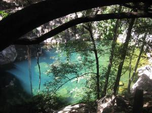 Turquoise Pool in Emma Gorge, El Questro.